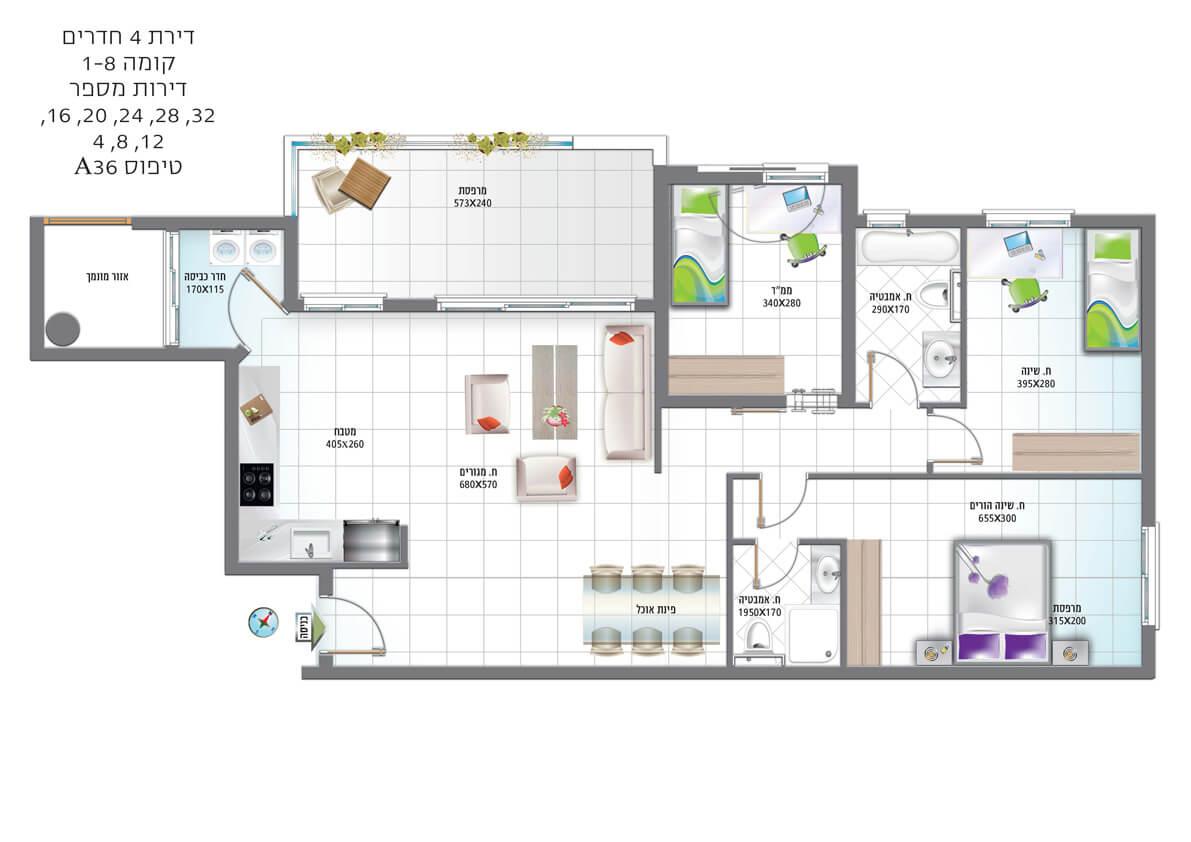 דירת-4-חדרים-טיפוס-A36